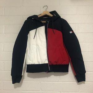 tommy hilfiger colorblock jacket